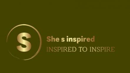 She's  inspired